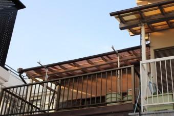 木製テラス修理後3