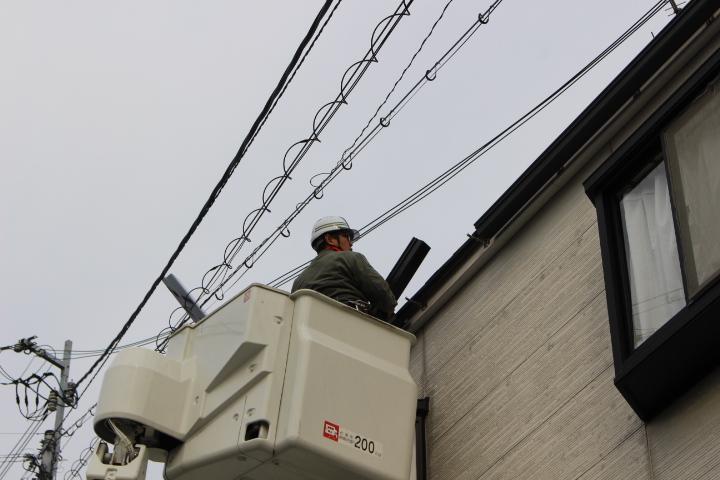 豊中市雨樋修理3