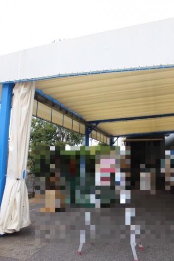 テント修理現場調査2