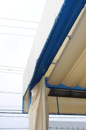 テント修理現場調査8