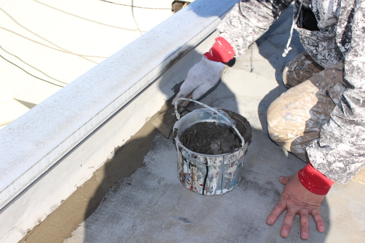 西宮市ALC造雨漏り修理5