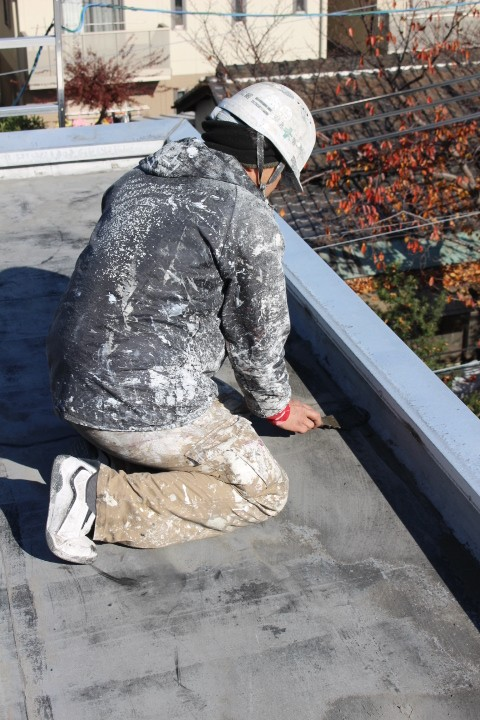 西宮市ALC造雨漏り修理6