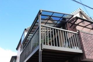 テラス屋根修理施工後1