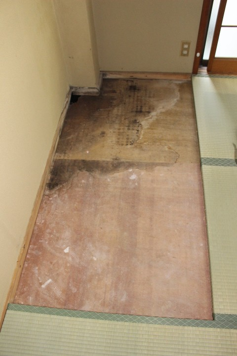 西宮市ALC住宅雨漏り1