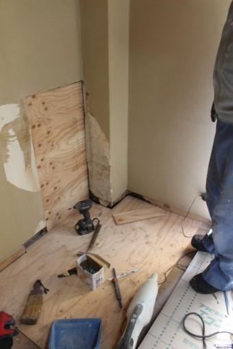 ALC造雨漏り内装修理2