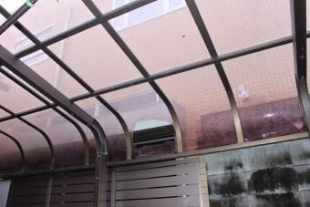 宝塚市カーポート屋根1