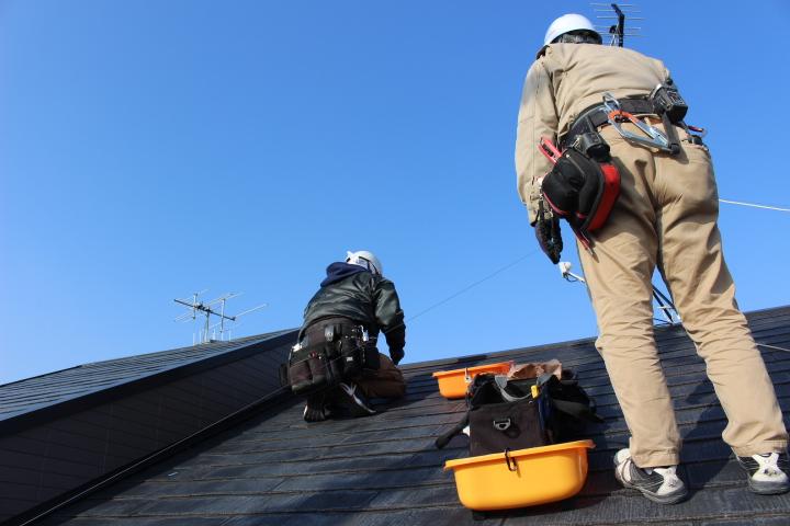 屋根修理1