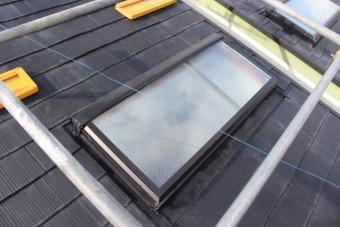 天窓ガラス交換14