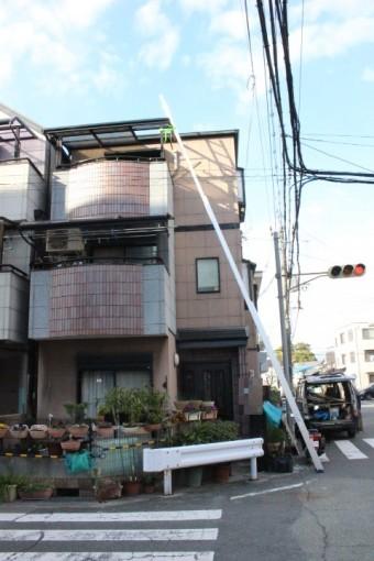 尼崎市テラス屋根修理3