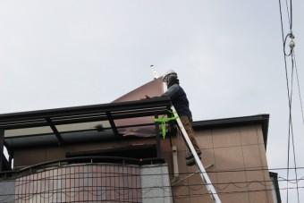 尼崎市テラス屋根修理7