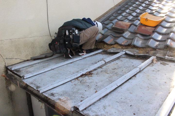 屋根部分葺き替え工事3
