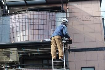 尼崎市テラス屋根修理10