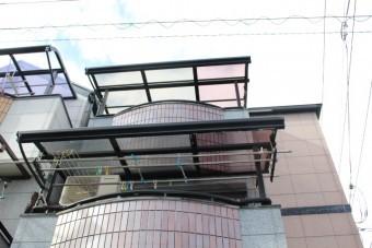 尼崎市テラス屋根修理11