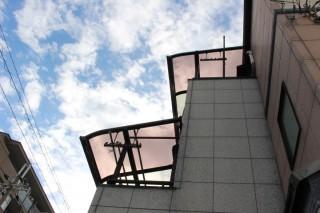 尼崎市テラス屋根修理2