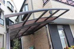 尼崎市カーポート屋根修理3