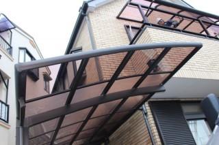 尼崎市カーポート屋根修理4