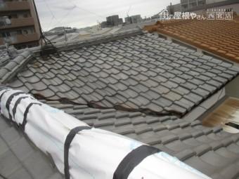 尼崎市瓦屋根棟修理2