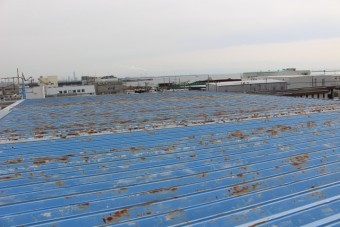 屋根塗装現場調査1