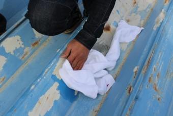 屋根塗装現場調査5