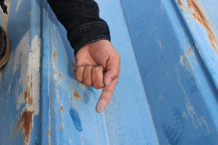 屋根塗装現場調査6
