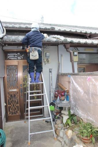 尼崎市瓦屋根修理3