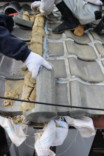 尼崎市瓦屋根修理4