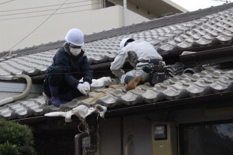尼崎市瓦屋根修理6