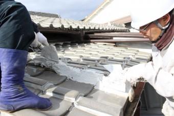 尼崎市瓦屋根修理7