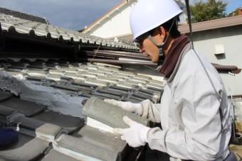 尼崎市瓦屋根修理8