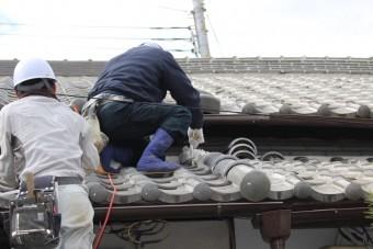 尼崎市瓦屋根修理10