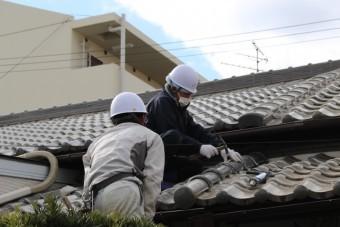 尼崎市瓦屋根修理11