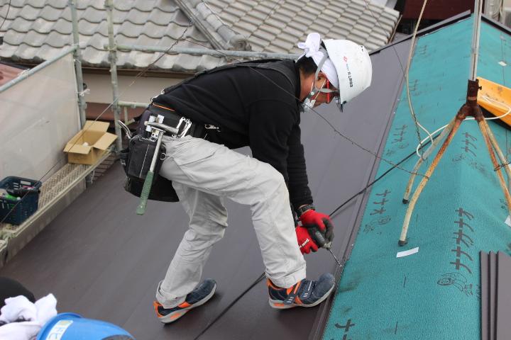 西宮天窓交換屋根カバー3