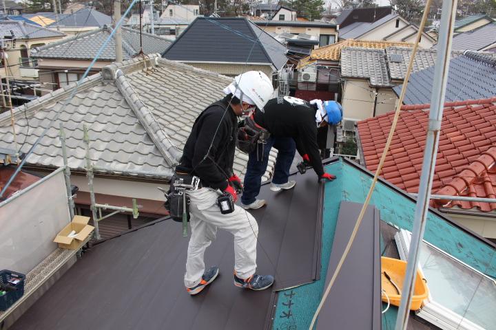 屋根カバー9