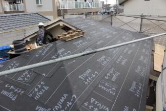 尼崎市屋根葺替え工事3