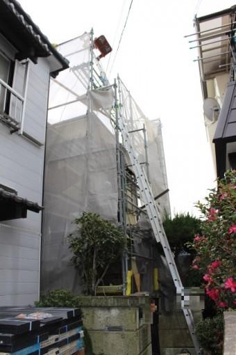 尼崎市屋根葺替え工事4