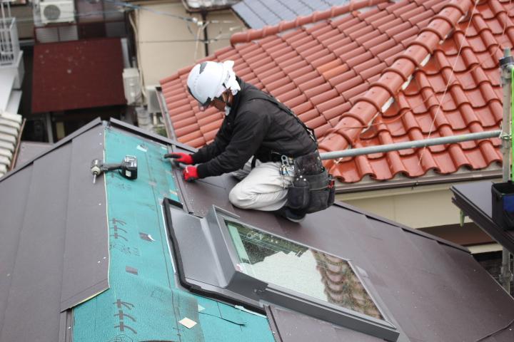 屋根カバー8