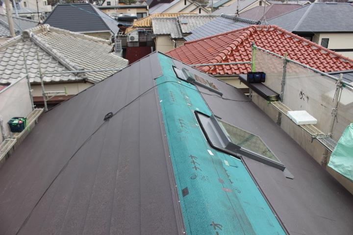 屋根カバー10