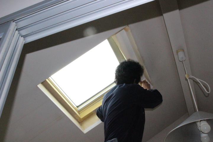 西宮市天窓内部仕舞い5