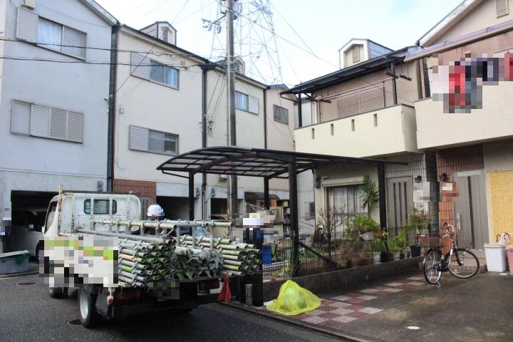 尼崎市屋根葺替え工事1