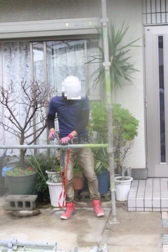 尼崎市屋根葺替え工事2