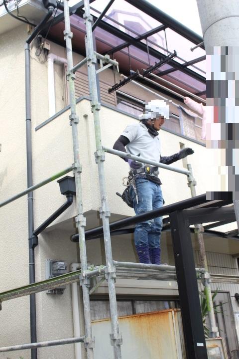 尼崎市屋根葺替え工事5