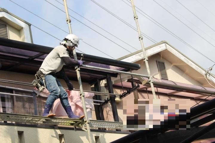尼崎市屋根葺替え工事6