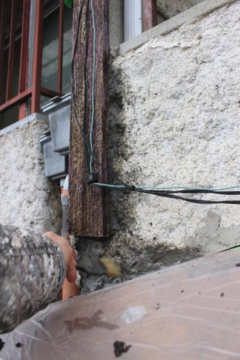 西宮市雨漏り外壁修理10