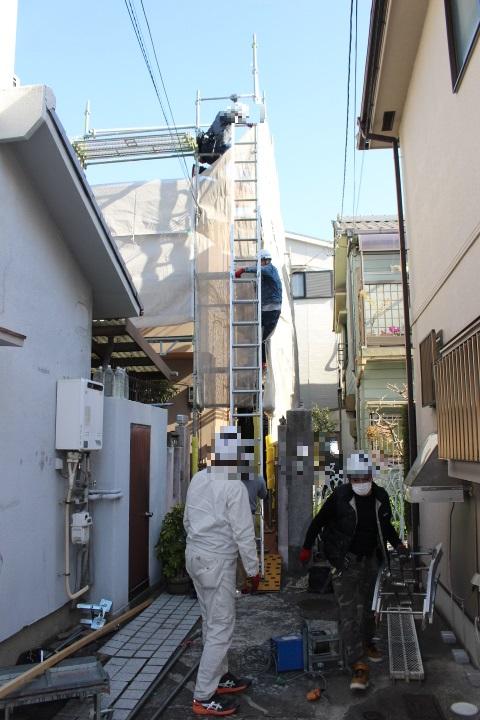 屋根葺き替え工事9