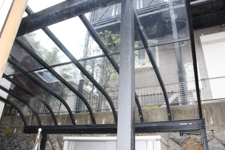 テラス屋根修理11