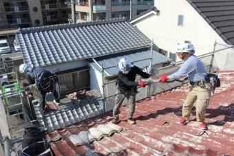 屋根葺き替え工事8