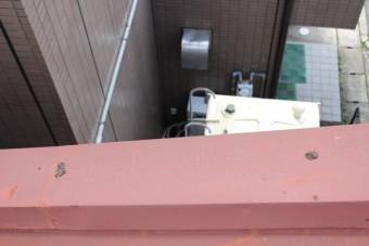 川西市屋根笠木修理6