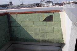 伊丹市雨漏り修理施工前1