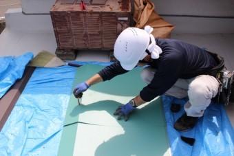 伊丹市雨漏り修理中5