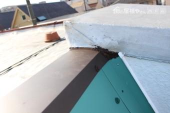 伊丹市雨漏り修理中7